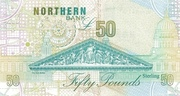 50 Pounds (Northern Bank) – revers