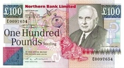 100 Pounds (Northern Bank) – avers