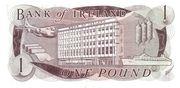 1 Pound (Bank of Ireland) – revers