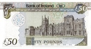 50 Pounds (Bank of Ireland) – revers