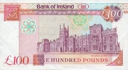 100 Pounds (Bank of Ireland) – revers