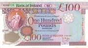 100 Pounds (Bank of Ireland) – avers