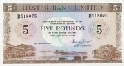 5 Pounds (Ulster Bank) – avers