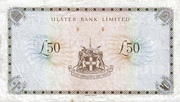 50 Pounds (Ulster Bank) – revers