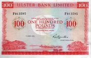 100 Pounds (Ulster Bank) – avers