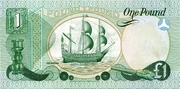 1 Pound (Provincial Bank of Ireland) – revers