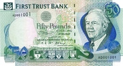 50 Pounds (First Trust Bank) – avers