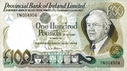 100 Pounds (Provincial Bank of Ireland) – avers