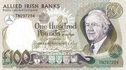 100 Pounds (Allied Irish Banks) – avers