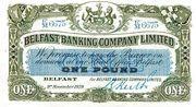 1 Pound (Belfast Banking Company) – avers