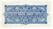1 Pound (Belfast Banking Company) – revers