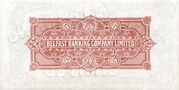 5 Pounds (Belfast Banking Company) – revers