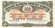 50 Pounds (Belfast Banking Company) – avers