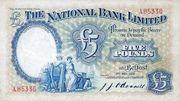 5 Pounds (National Bank) – avers