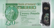 20 Pounds (Bank of Ireland) – avers
