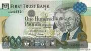 100 Pounds (First Trust Bank) – avers