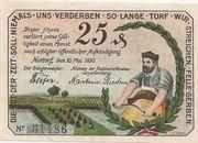 25 Pfennig (Nortorf) – avers
