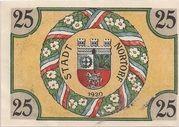 25 Pfennig (Nortorf) – revers