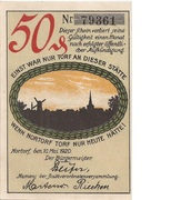 50 Pfennig (Nortorf) – avers