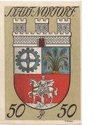 50 Pfennig (Nortorf) – revers