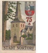 75 Pfennig (Nortorf) – revers