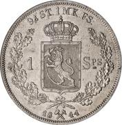 1 Speciedaler - Carl XIV Johan – revers