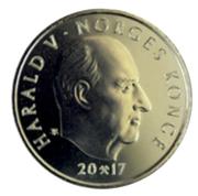 20 Kroner - Harald V (Premier congrès sami) -  avers