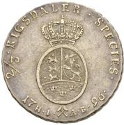 2/3 Speciedaler - Christian VII – revers