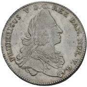 1 Reisedaler - Frederik V -  avers