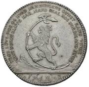 1 Reisedaler - Frederik V -  revers
