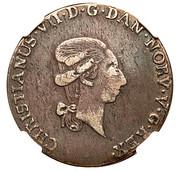 1/3 Speciedaler - Christian VII – avers