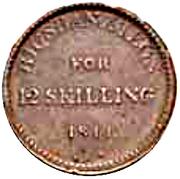 12 Skilling - Frederik VII – revers