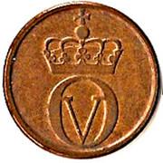 2 øre - Olav V (petites inscriptions) -  avers