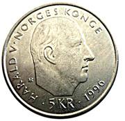 5 kroner Nansen -  avers