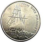 5 kroner Nansen -  revers