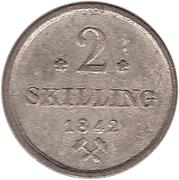 2 Skilling – revers
