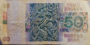 50 kroner – revers