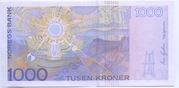 1000 Kroner – revers