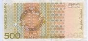 500 Kroner – revers