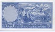 5 Kroner -  revers