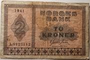 2 Kroner – avers