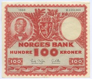 100 Kroner (1949-1962) – avers