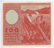100 Kroner (1949-1962) – revers