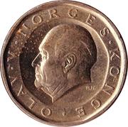 10 kroner Olav V -  avers