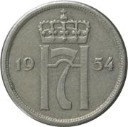 10 øre - Haakon VII -  avers