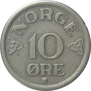 10 øre - Haakon VII -  revers