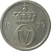 10 øre - Olav V -  avers