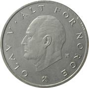 1 krone - Olav V -  avers
