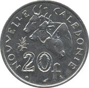 20 francs (sans IEOM) – revers