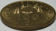 100 francs (IEOM) -  avers